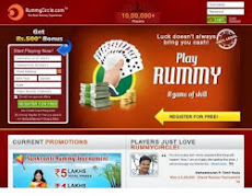 Online Rummy -- Free / Cash / Tournament