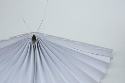 как сделать из бумаги веер