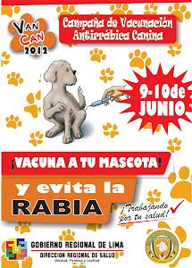 capaña de vacunacion canina