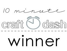 Yahoo! Craft Dash  WINNER! Challenge  4