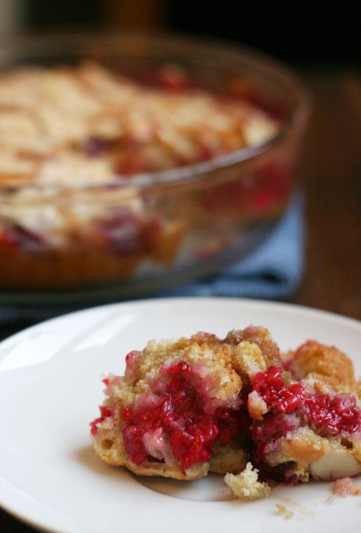 Michaela Rae: Raspberry Almond Coffee Cake