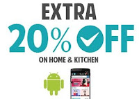 Get  Extra 20% off on Home & Kitchen only on Shopclues App :buytoearn