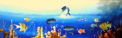 Haitianarts cadres baleines à bosse
