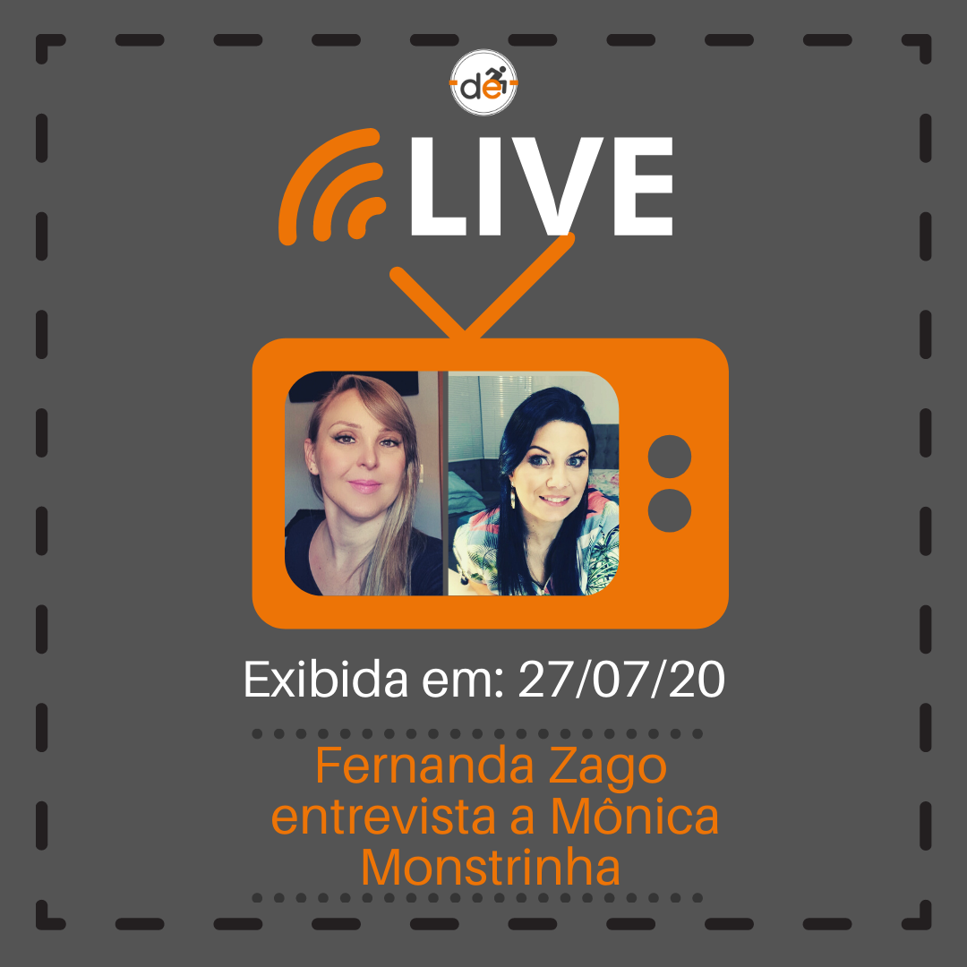 Live com Mônica Mostrinha