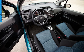 Toyota Yaris car 2012 interior - صور سيارة تويوتا يارس 2012 من الداخل