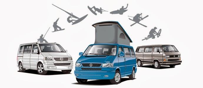 diferentes modelos de furgonetas