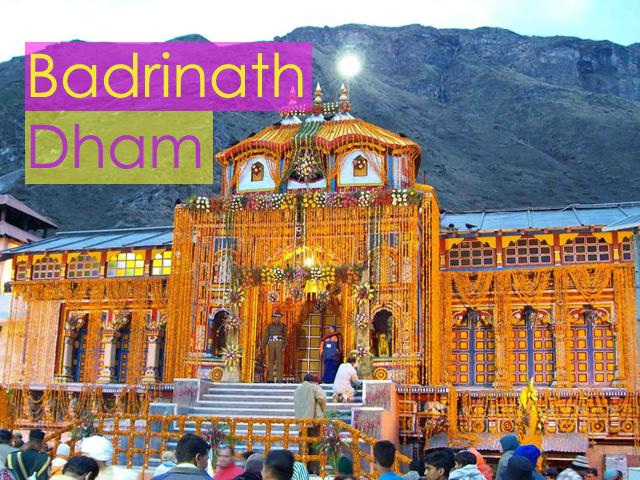 Badrinath Dham Image