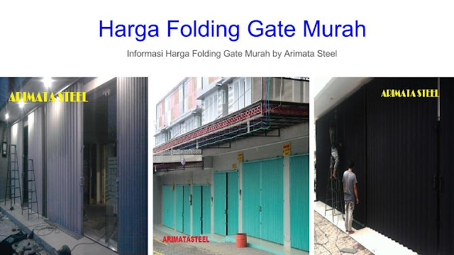 gambar untuk harga folding gate Bandung