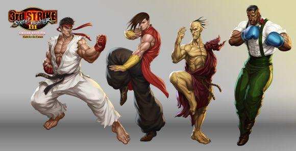 Stanley Lau artgerm deviantart ilustrações mulheres sensuais games quadrinhos Street Fighter 3rd Strike