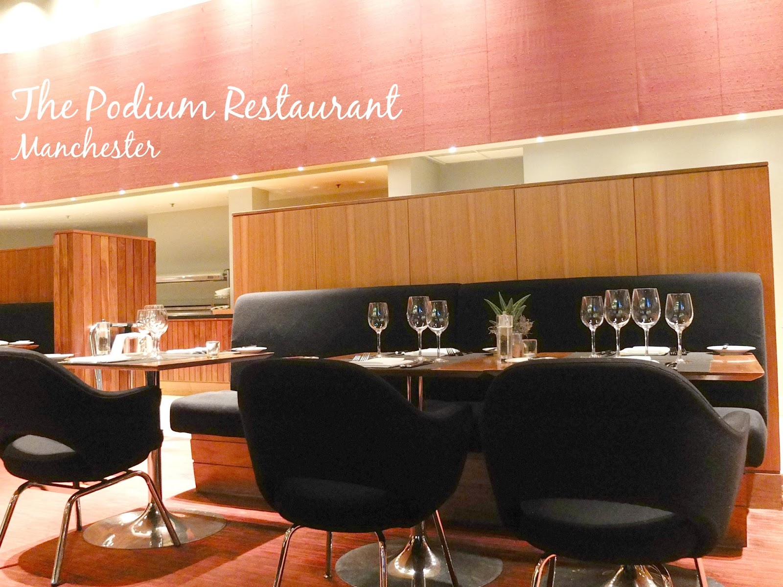 Food blog review of the Podium Restaurant at The Hilton in Deansgate Manchester.