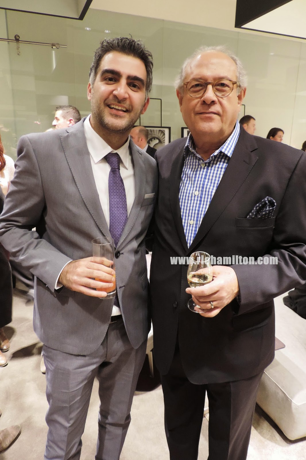 amir and flexform president jose levy