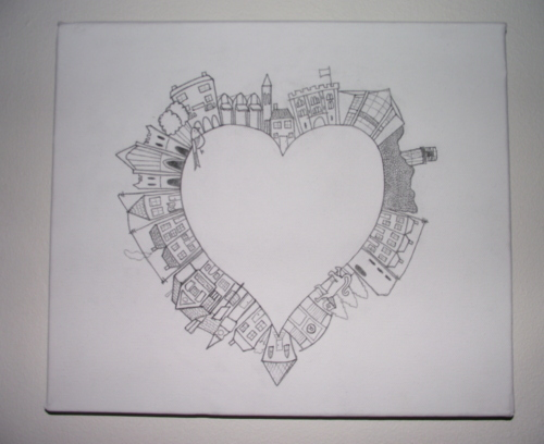city-heart-canvas