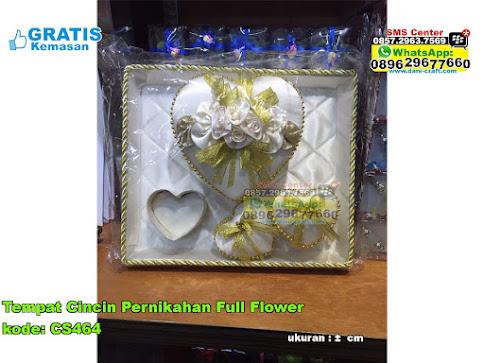 Tempat Cincin Pernikahan Full Flower