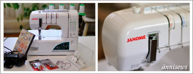 ännisews: MissionUnderCover // Janome Cover Pro 1000 CPX Limited Edition