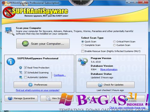 SUPERAntiSpyware Professional 5.6.10 Full Keygen 2