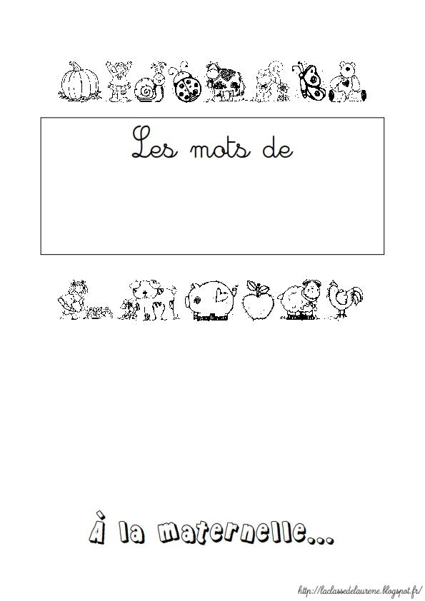 cahier vocabulaire