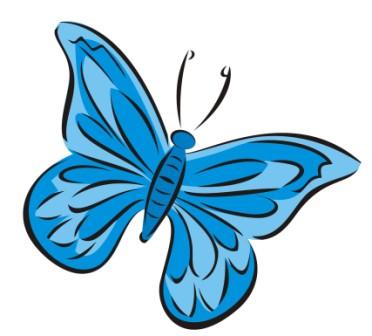 Aku akan mencoba berbagi gambar vektor kupu kupu oke tidak banyak