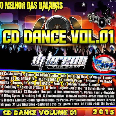 CD DANCE VOL.01 O MELHOR DAS BALADAS DJ BRENO THEBEST 15/04/2015