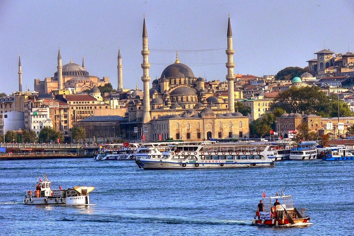Пейзаж-Стамбула