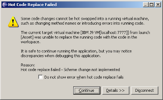 in such cases you have to stop the application server replace the