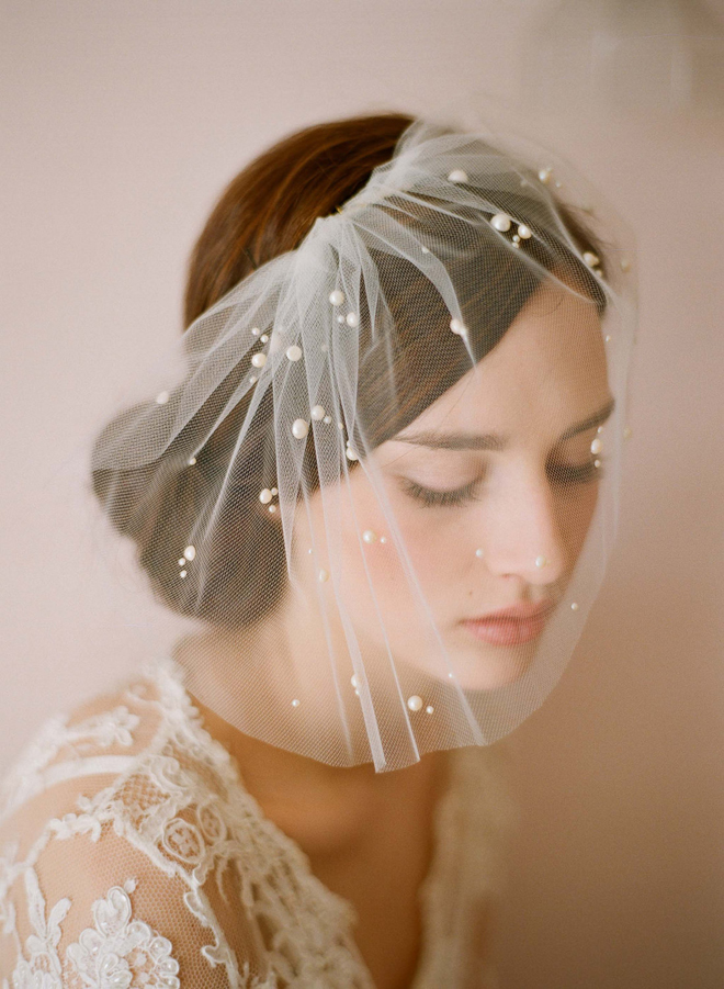 Wishahmon Blog How To Style Your Hair For A Wedding Veil