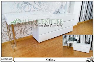 Meja rias minimalis modern desain Galaxy