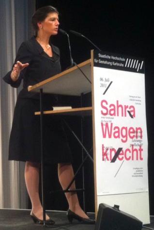 Sahra Wagenknecht - Familienfunk