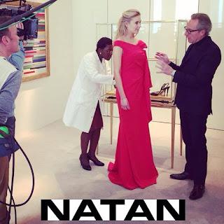 Queen Mathilde Style NATAN Dress