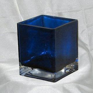 Buy Wholesale Blue Glass Cubes