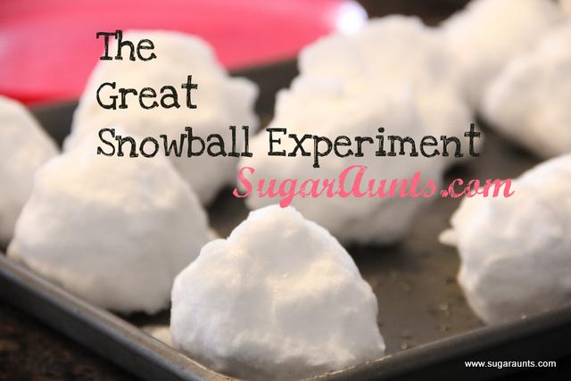 http://www.sugaraunts.com/2013/02/snowball-experiments.html