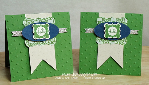 Stampin' Up! Pretty Petites Stamps & Petite Curly Label Punch
