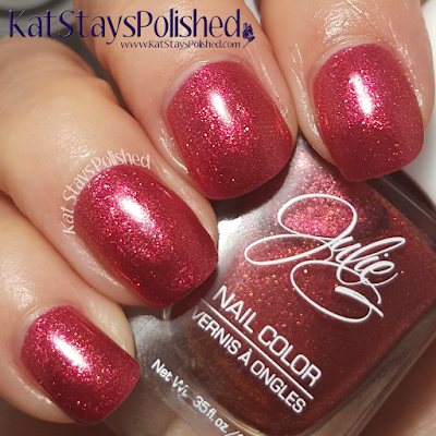 JulieG Nail Color - Core 2015 - Supervillian | Kat Stays Polished