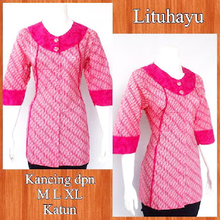 Baju Blouse Batik Lituhayu DBT 4212