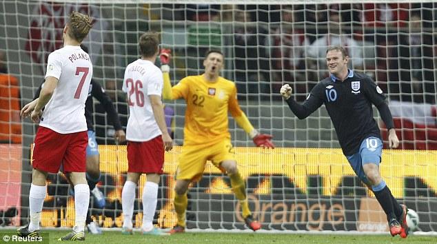 Polandia vs Inggris 1-1 : Hasil Kualifikasi Piala Dunia 2014