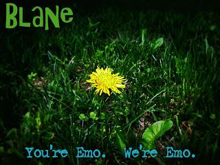 You're EMO We're EMO Dark Gothic Wallpaper