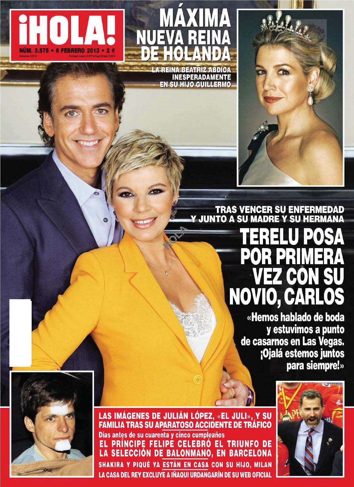 Las caderas tabasco shakira en la revista hola espa a for Revistas de espectaculos de esta semana