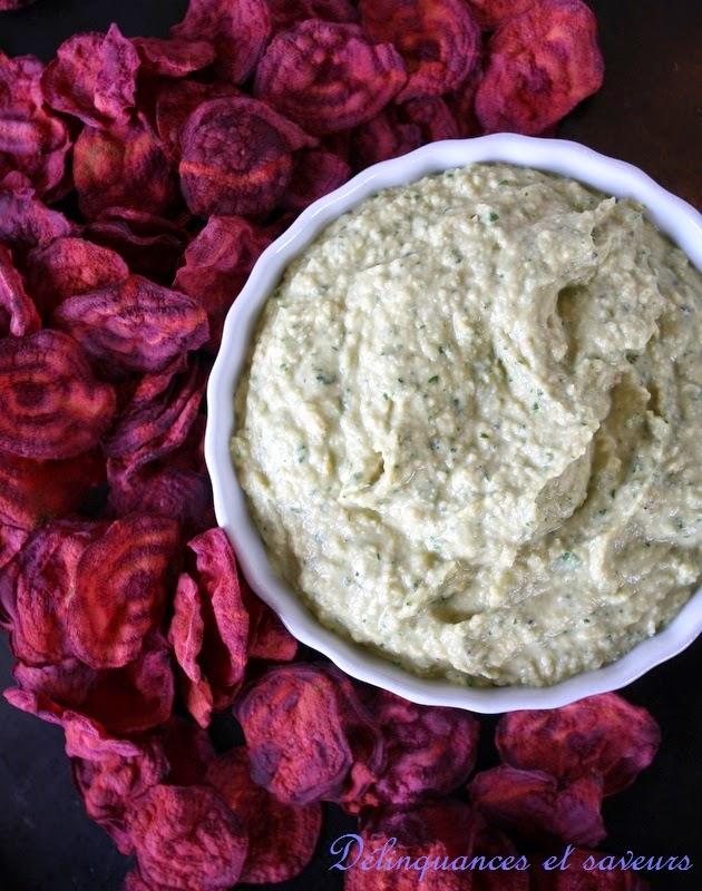 D linquances et saveurs hummus au curry vert et chips de for Betterave micro onde