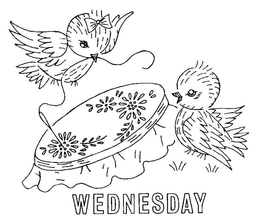 Beautiful free vintage embroidery patterns download