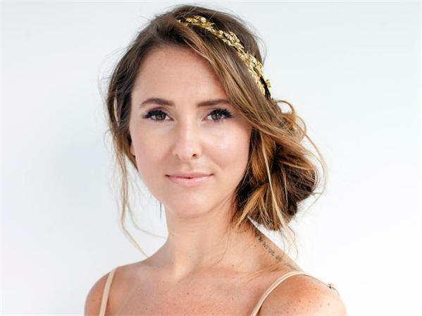Fashionmaus Frisur Idee Fur Eine Bohemien Hochzeit