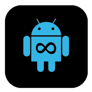 Download Blue Infinitum Theme - Dark Apk