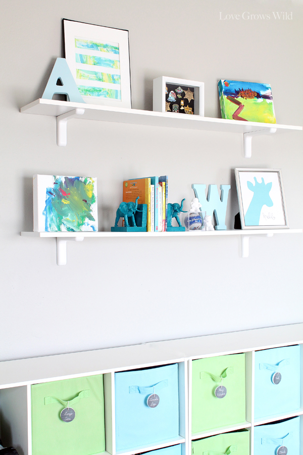 Kidu0027s Playroom Makeover With Lots Of Organizing Tips And Decor Ideas! # Playroom #kids