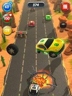 Screenshots of the Hit dodge zbang for Android tablet, phone.