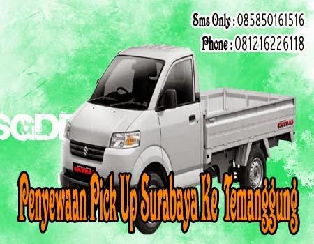 Penyewaan Pick Up Surabaya Ke Temanggung