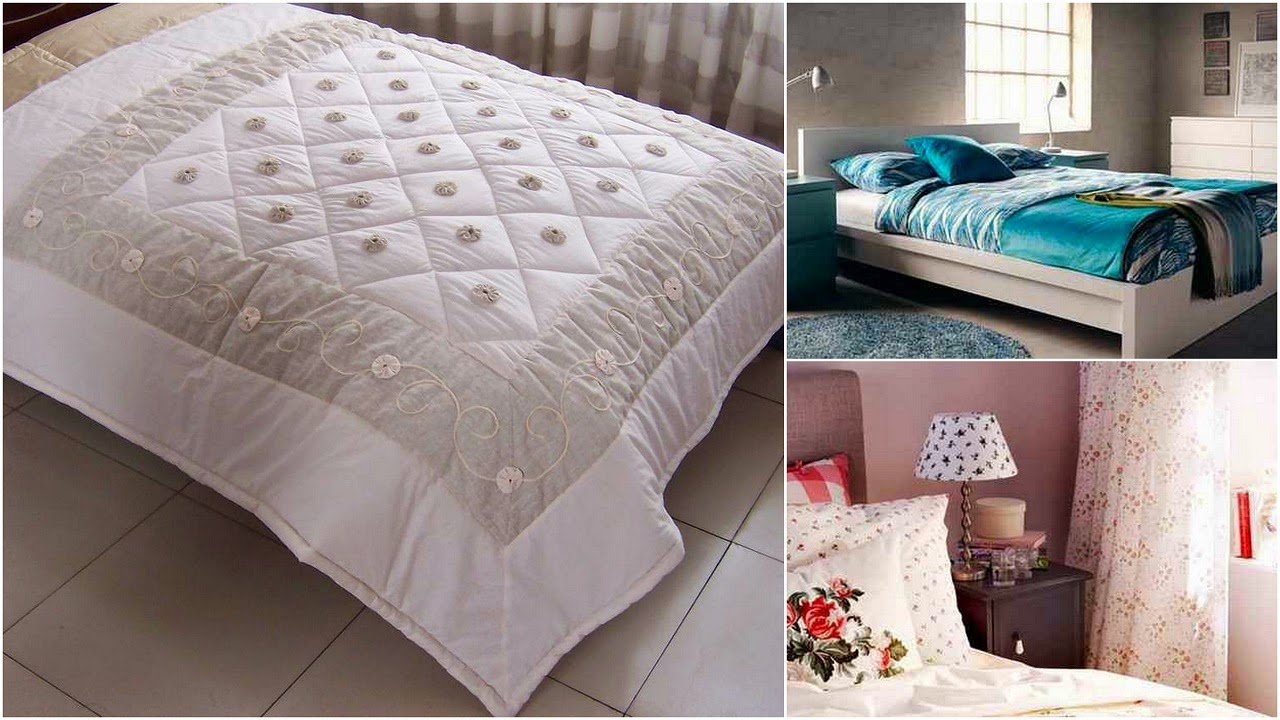 Bed linens for modern bedroom