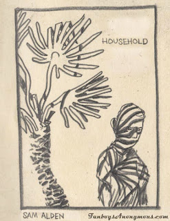 The front cover to sam alden's newest mini comic household