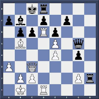 Echecs & Tactique : les Blancs jouent et gagnent en 4 coups - Niveau Moyen