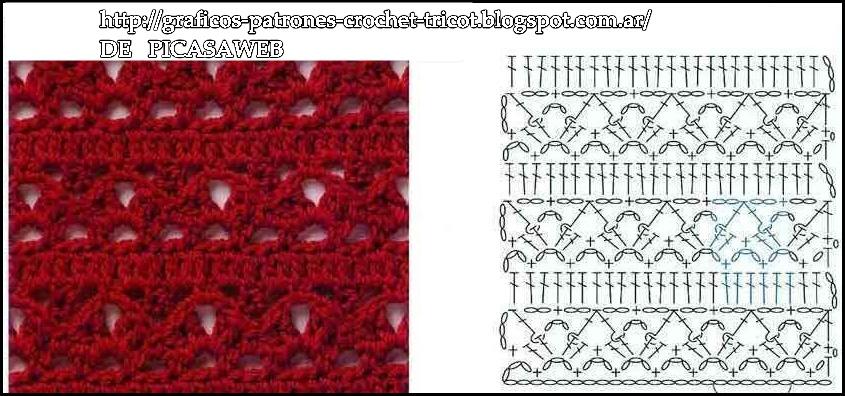 Punto De Ganchillo Modelos. Free Blusas A Crochet Patrones Puntos ...