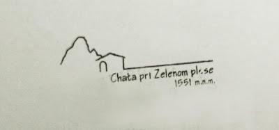 Schronisko nad Zielonym Stawem Kieżmarskim - pieczątka