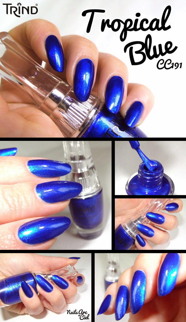 Vernis Trind Tropical Blue CC191