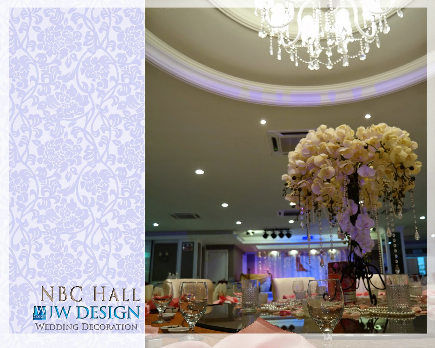 Jw design wedding decoration michelles wedding at klang nbc hall junglespirit Gallery